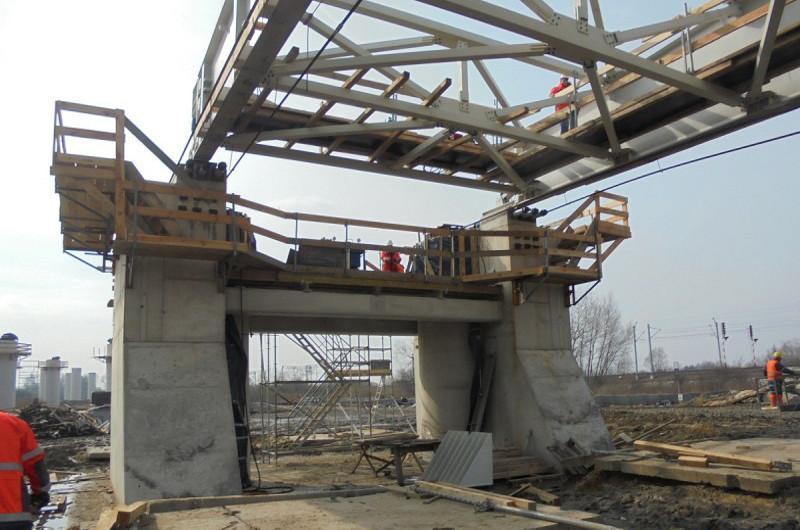 Budowa mostu nad Baryczą w ciągu drogi ekspresowej S5