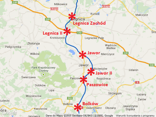 Droga ekspresowa S3 Legnica - Jawor - Bolków