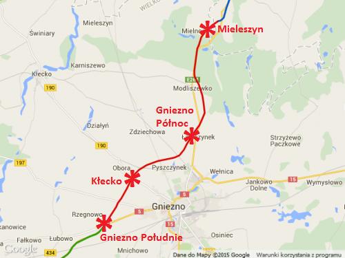 Droga ekspresowa S5 Gniezno - Mileszyn