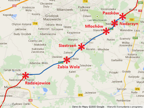 Droga ekspresowa S8 Radziejowice - Wolica