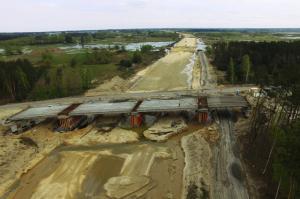 Budowa obwodnicy Radomia w ciągu drogi ekspresowej S7 - maj 2017 r.