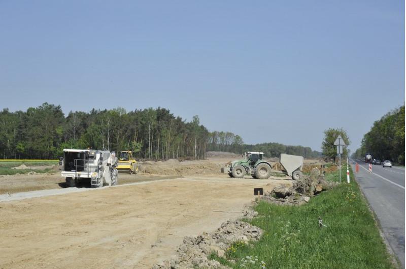 Budowa drogi ekspresowej s17 z Garwolina do Kurowa