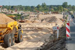 Obwodnica Kołbieli – ostatni odcinek S17 Warszawa – Lublin w budowie