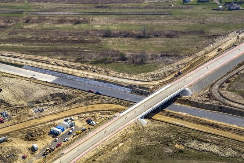 Rośnie zaangażowanie prac na budowie drogi S19 Sokołów Młp. – Stobierna