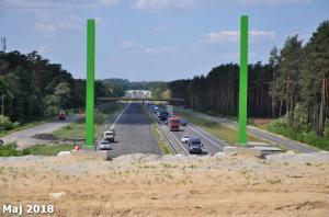 Dopiero pod koniec roku pojedziemy ekspresowo S3 Zielona Góra – Nowa Sól