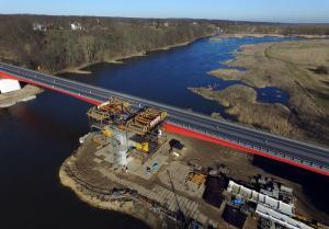 S3 Sulechów – Zielona Góra: budowa mostu nad Odrą na ostatniej prostej