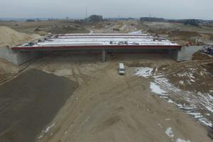 Budowa S51 obwodnicy Olsztyna: Przełożenie ruchu w okolicy Tomaszkowa
