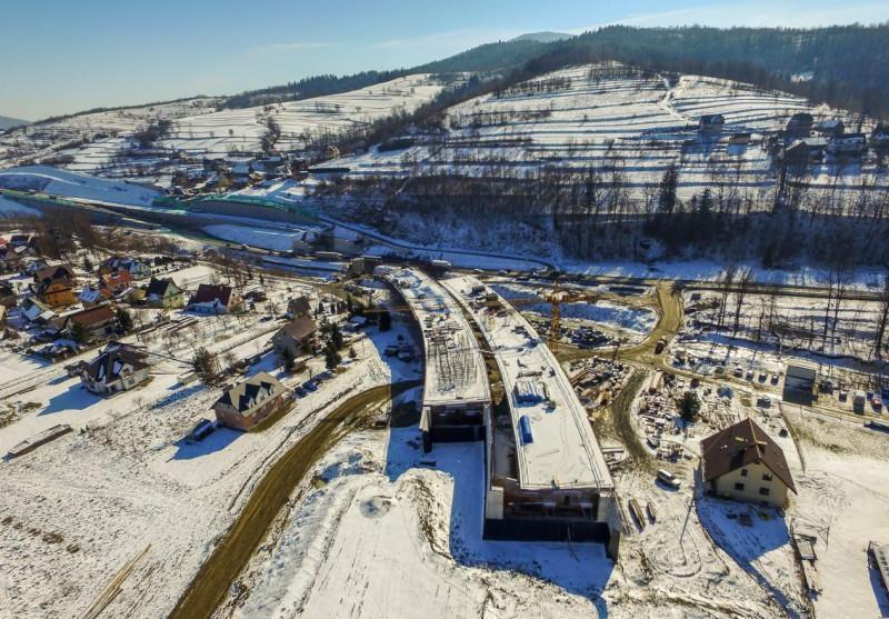 Droga ekspresowa S7 - Zakopianka w budowie
