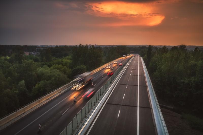Nowa estakada w Sosnowcu w ciagu drogi ekspresowej S1