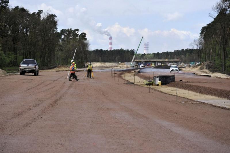 Budowa drogi ekspresowej łączącej S17 w Kurowie z mostem w Puławach