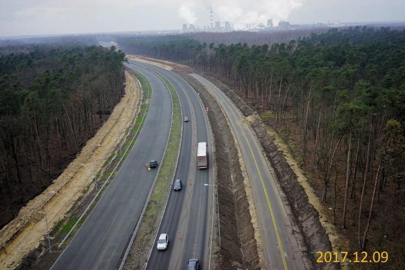 Droga ekspresowa S12 w okolicy Puław