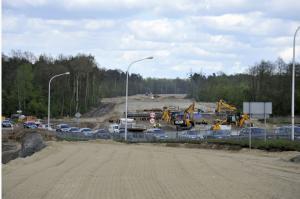 Co słychać na budowie drogi S12 łączącej Kurów z mostem w Puławach?