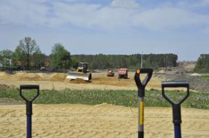 Wbito łopaty na budowie drogi ekspresowej S17 Garwolin - Kurów