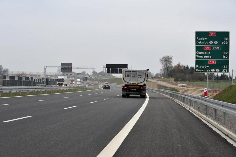 Droga ekspresowa S19 jest częścią miedzy narodowej trasy Via Carpatia