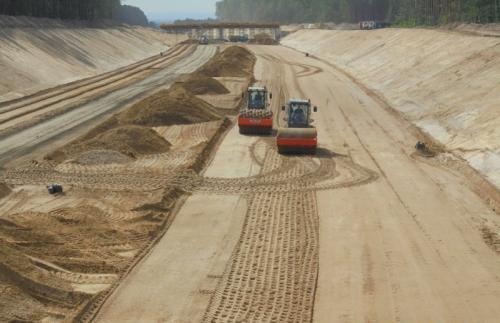 Startują prace dla drogi ekspresowej S16 Borki - Mragowo