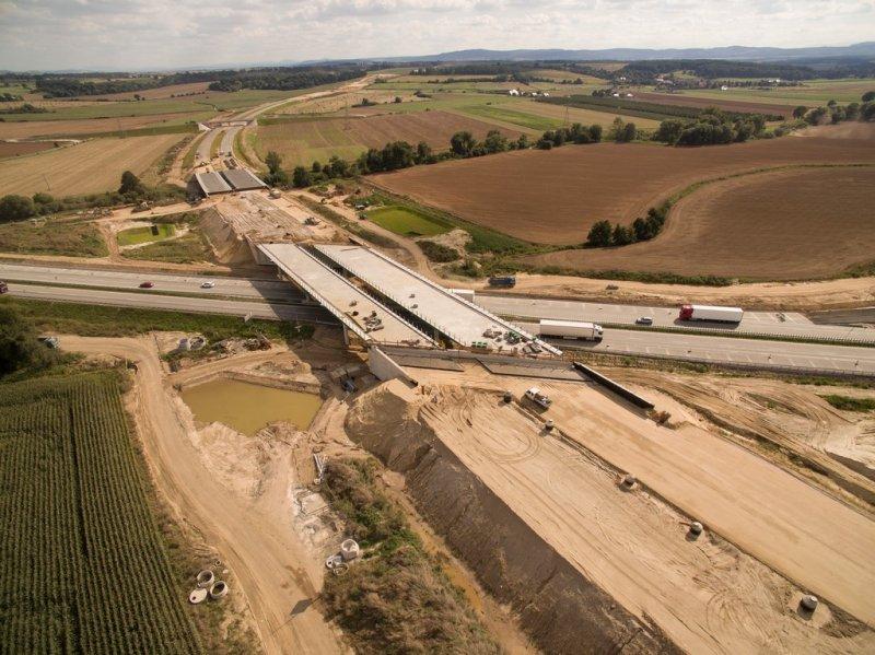 Droga S3 połączy się z autostradą A4 pod Legnicą. Pojedziemy nowym odcinkiem