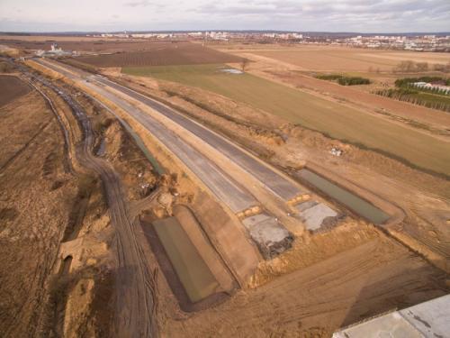 Obwodnica Lubina - nowe zdjęcia z budowy drogi ekspresowej S3