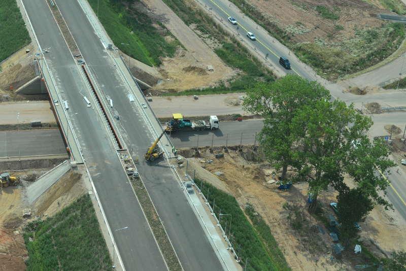 Droga ekspresowa S3 - obiekty na węźle Bolków