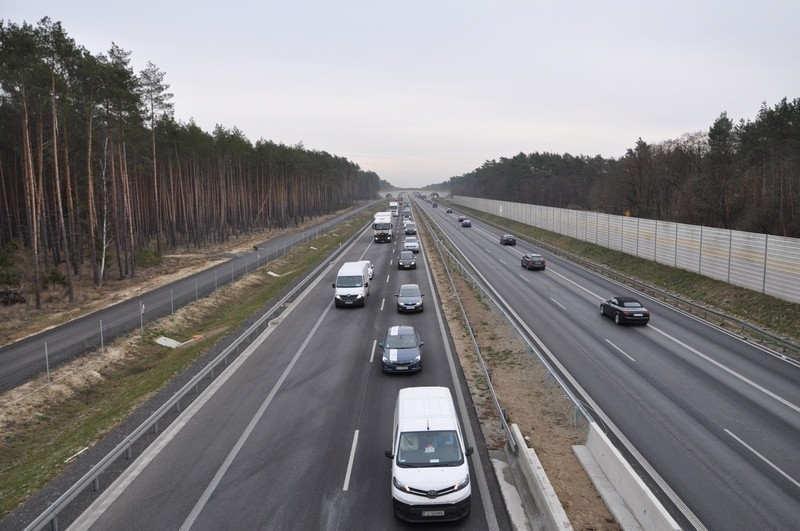 Droga ekspresowa S3 z dobudowaną drugą jezdnią