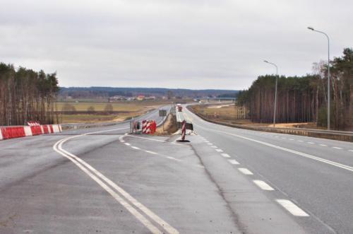 Kierowcy pojadą nową jezdnią drogi S5 pod Bydgoszczą. Raport z budowy S5 w kujawsko-pomorskim