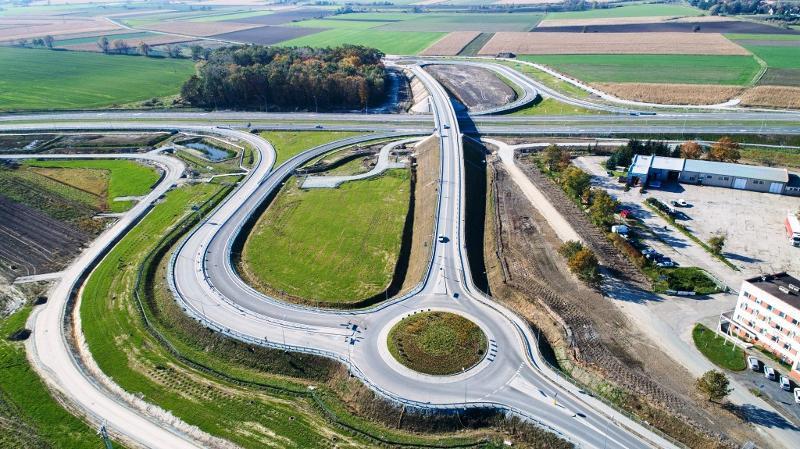 Nowy odcinek drogi ekspresowej S5 w woj. dolnoślaskim