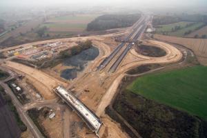 Droga ekspresowa S5 pod Wrocławiem gotowa w 70 procentach