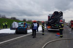 Były ćwiczenia ratownicze, wkrótce otwarcie drogi S5 z Wrocławia