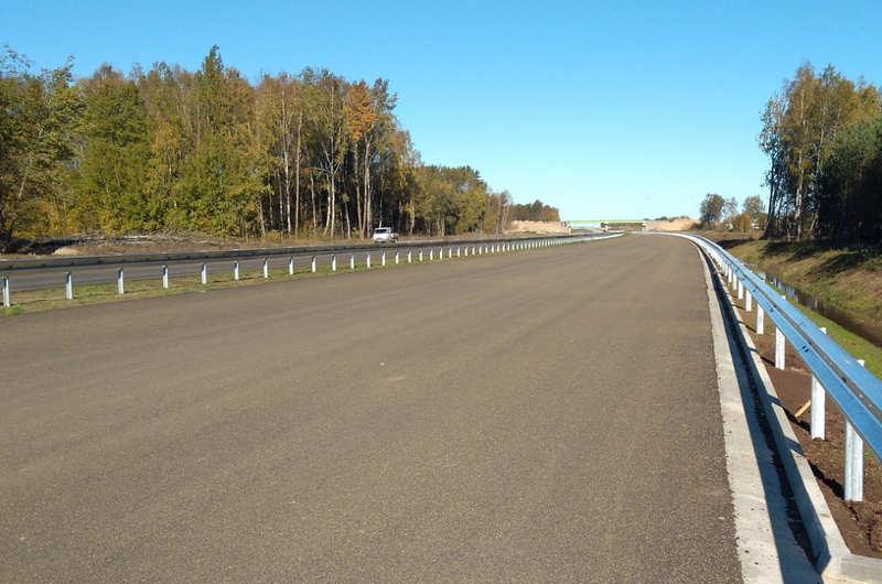 Finisz prac na odcinku ekspresowej S6 w kierunku Kołobrzegu
