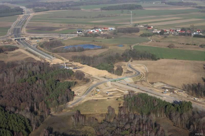 Budowa drogi ekspresowej S6 na trasie Goleniów - Płoty