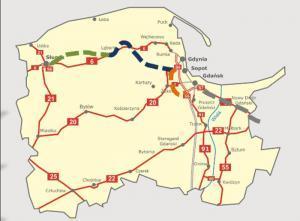 Rząd przekłada budowę drogi ekspresowej S6 na Pomorzu