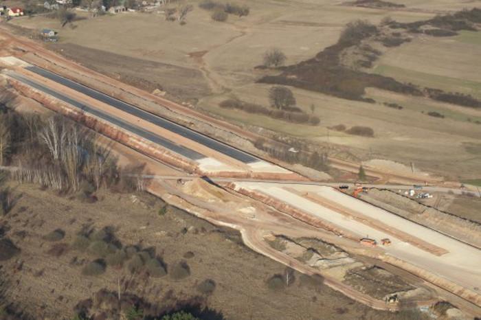 Budowa drogi ekspresowej S7 Chęciny - Jędrzejów