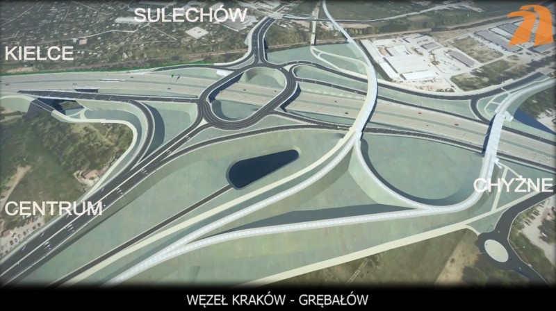 Droga ekspresowa S7 Kraków - Widoma