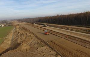 Budowa drogi ekspresowej S5 w kujawsko-pomorskim - listopad 2017 r.