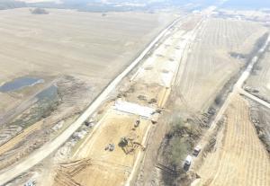 Powstaje droga ekspresowa S6. Zdjęcia z budowy odcinka Kiełpino - Koszalin