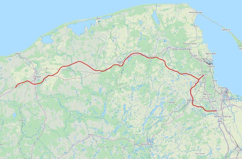 Droga ekspresowa S6 Słupsk - Lebork - Gdynia