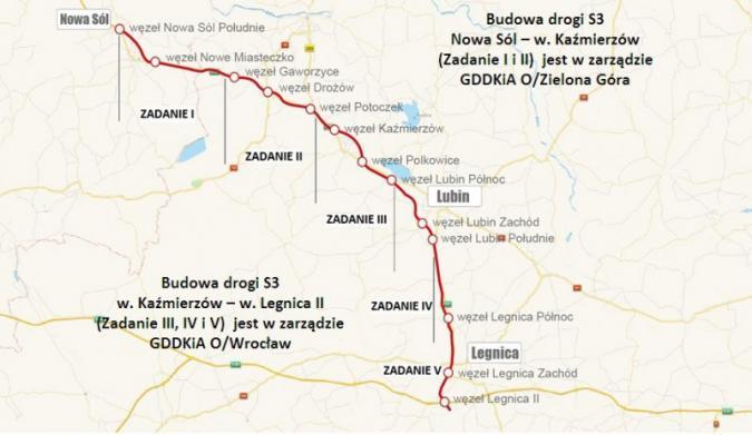 Lada dzień otwarcie nowych odcinków drogi ekspresowej S3 na Dolnym Śląsku
