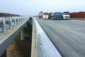 Testowano most na dolnośląskim odcinku S5