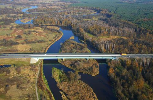 Awaria na moście w ciągu S7 w Białobrzegach