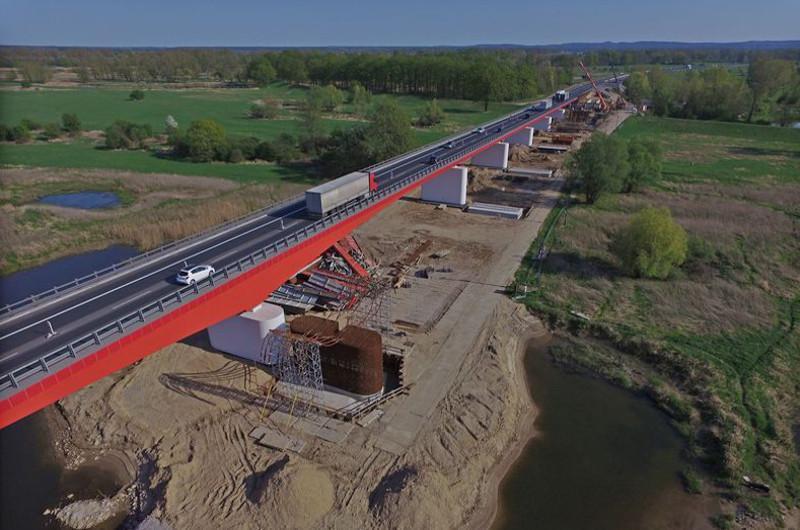 Budowa mostu przez Odrę w ciągu drogi ekspresowej S3 Sulechów - Nowa Sól