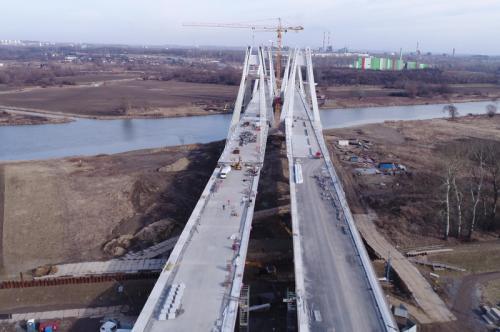 S7: Wschodnia obwodnica Krakowa z mostem przez Wisłę coraz bliżej