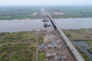 Postępują prace na budowie 40 km drogi S7 Gdańsk - Elbląg
