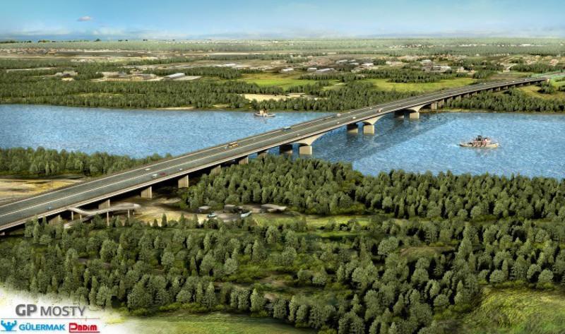 Most przez Wisłę w ciągu II odc. drogi ekspresowej S2 Puławska - Lubelska