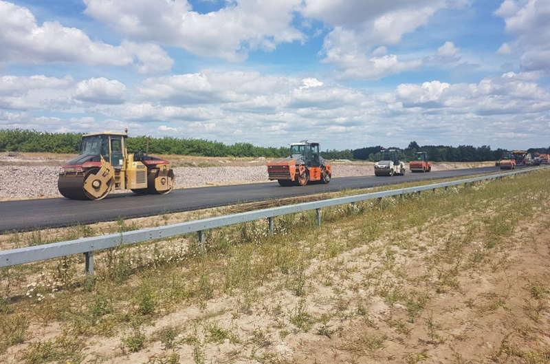Budowa zachodniej obwodnicy Radomia w ciagu drogi ekspresowej S7 na finiszu