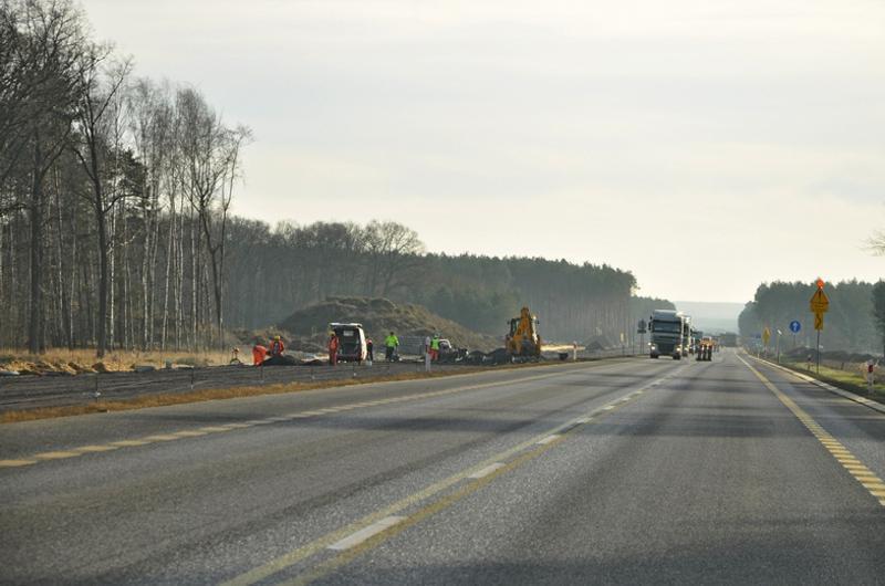 Budowa drogi espresowej S3 Niedoradz - Nowa Sól