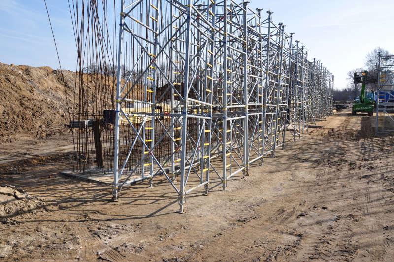 Budowa drogi ekspresowej S5 - stan luty 2019  r. Zdjęcia: GDDKIA
