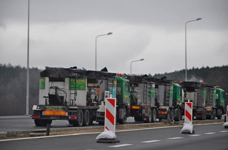 Prace na S3 - obwodnicy Gorzowa Wielkopolskiego powodują olbrzymie korki