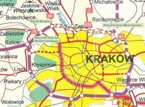 Droga S52: Program Inwestycyjny dla Północnej Obwodnicy Krakowa zatwierdzony