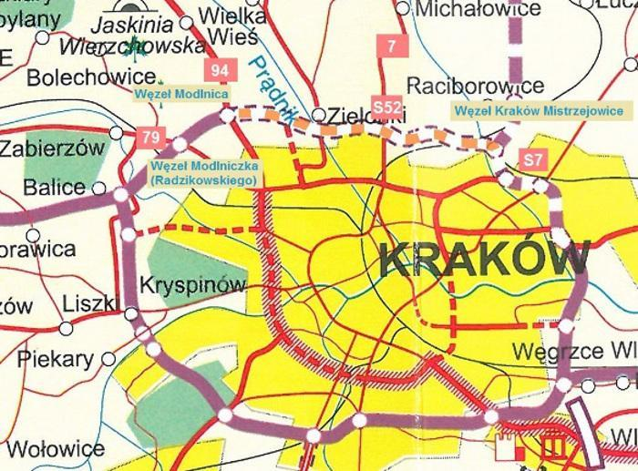 Północna obwodnica Krakowa w ciągu S52