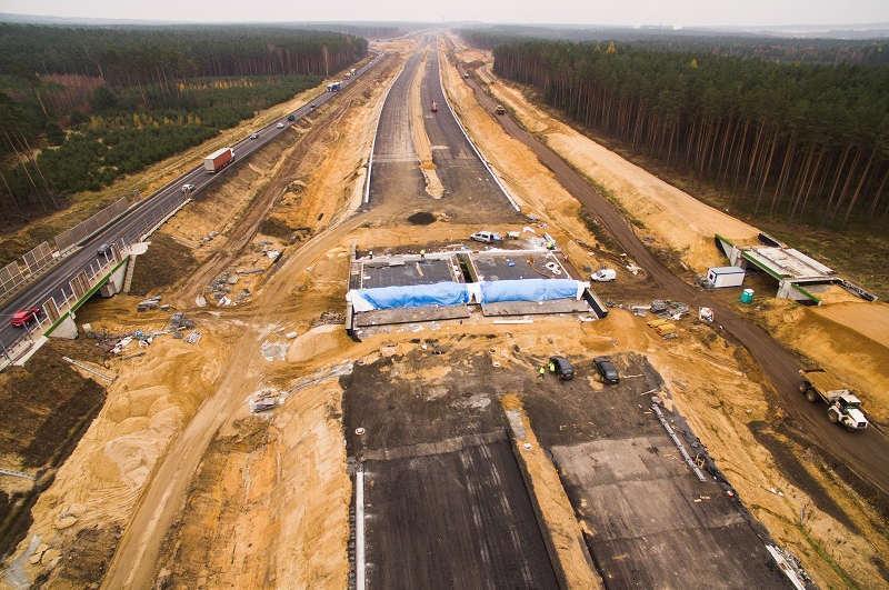 Budowa drogi ekspresowej S3 Polkowice - Lubin zawieszona