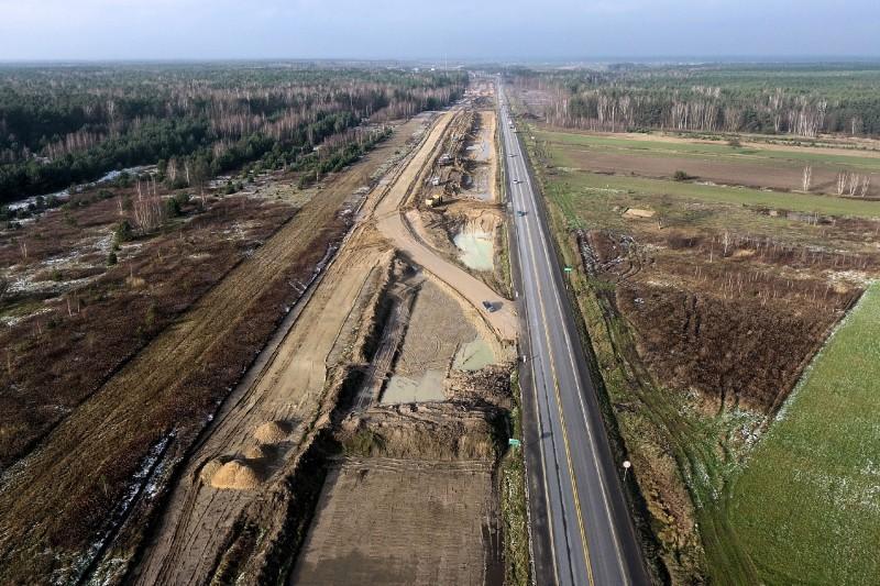 Budowa drogi ekspresowej S17 obwodnica Kołbieli - obwodnica Garwolina